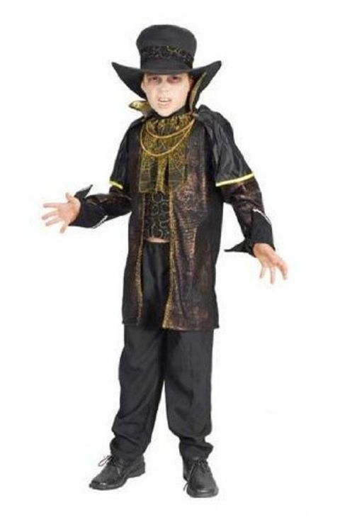 Boys Count Bloodthirst Vampire Costume (Age 4 - 6)